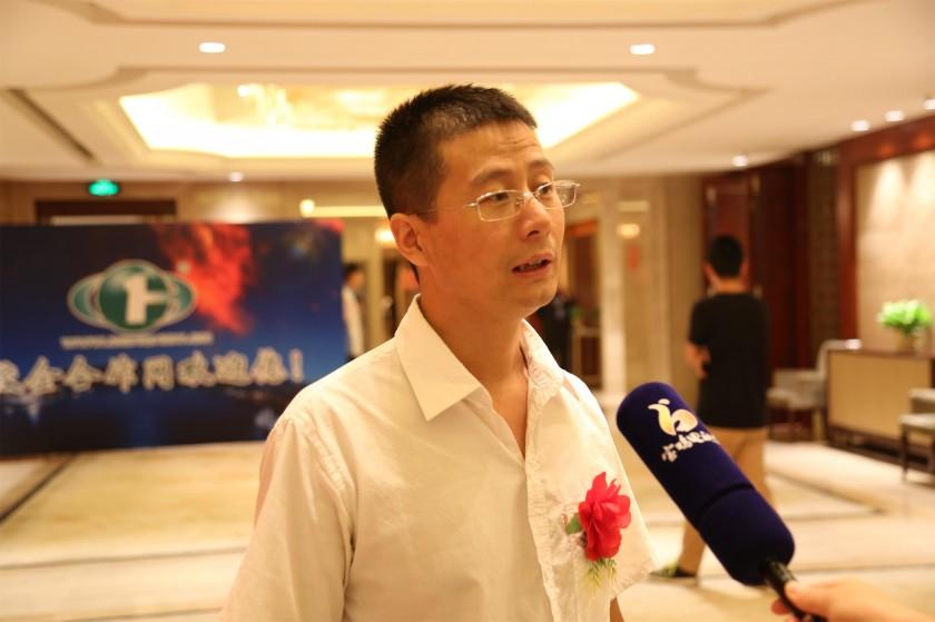 我司总经理韩晔接受宝鸡电视台采访...